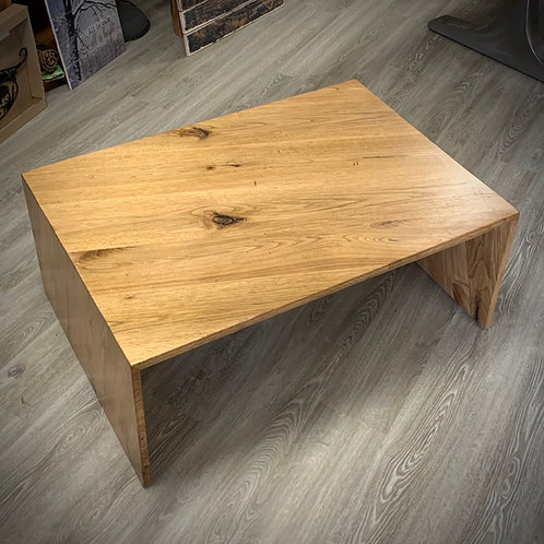 Butternut Live Edge Coffee Table