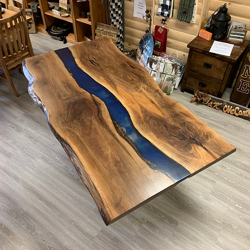 Live-Edge River Table