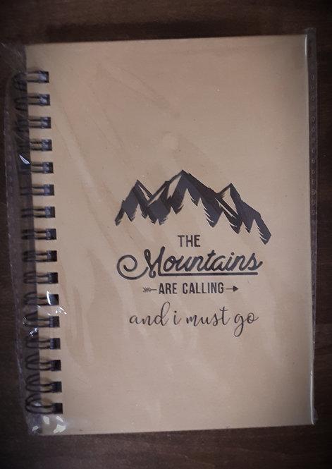 Unlined Adventure Notebook