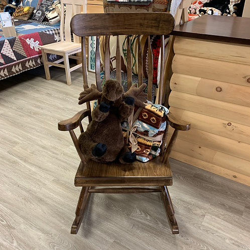 Wormy Maple Rocking Chair