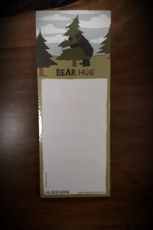 Bear Hug Magnetic List