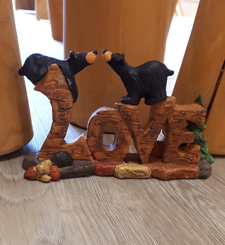 Love Bear Figurine