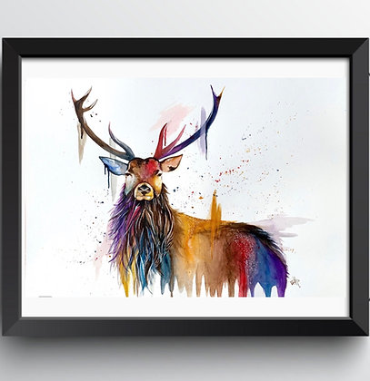 Original 'Stag' Painting