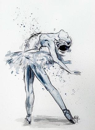 Original 'Swan Lake' Wings Artwork