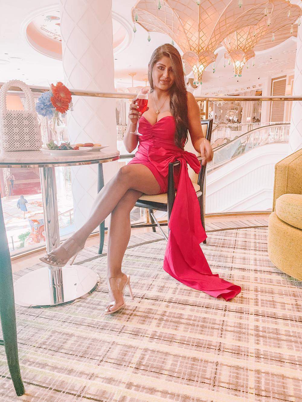 Valenitne's day pink dress