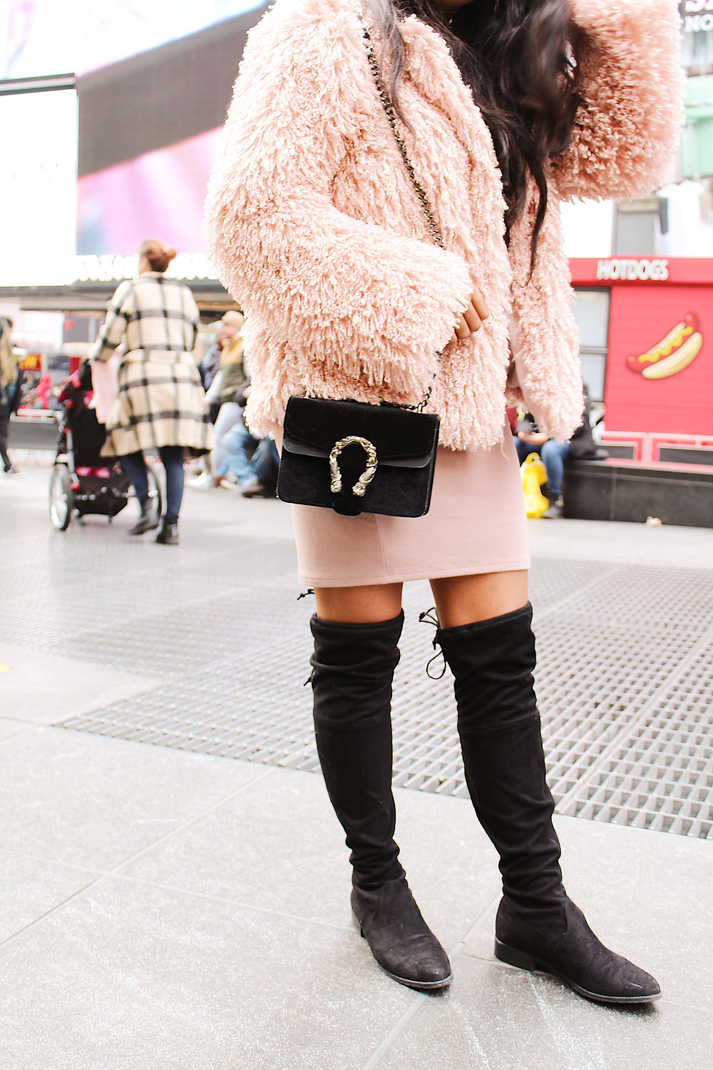 FAUX FUR WINTER COAT