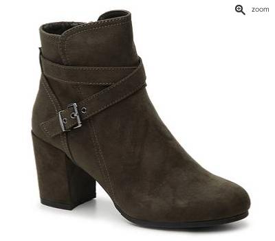 booties with heel