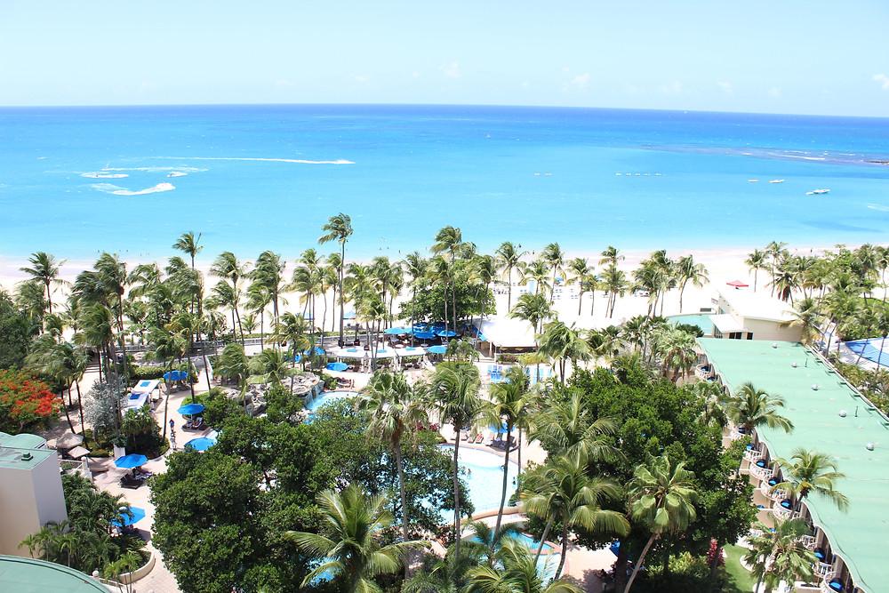 View from Intercontinental San Juan