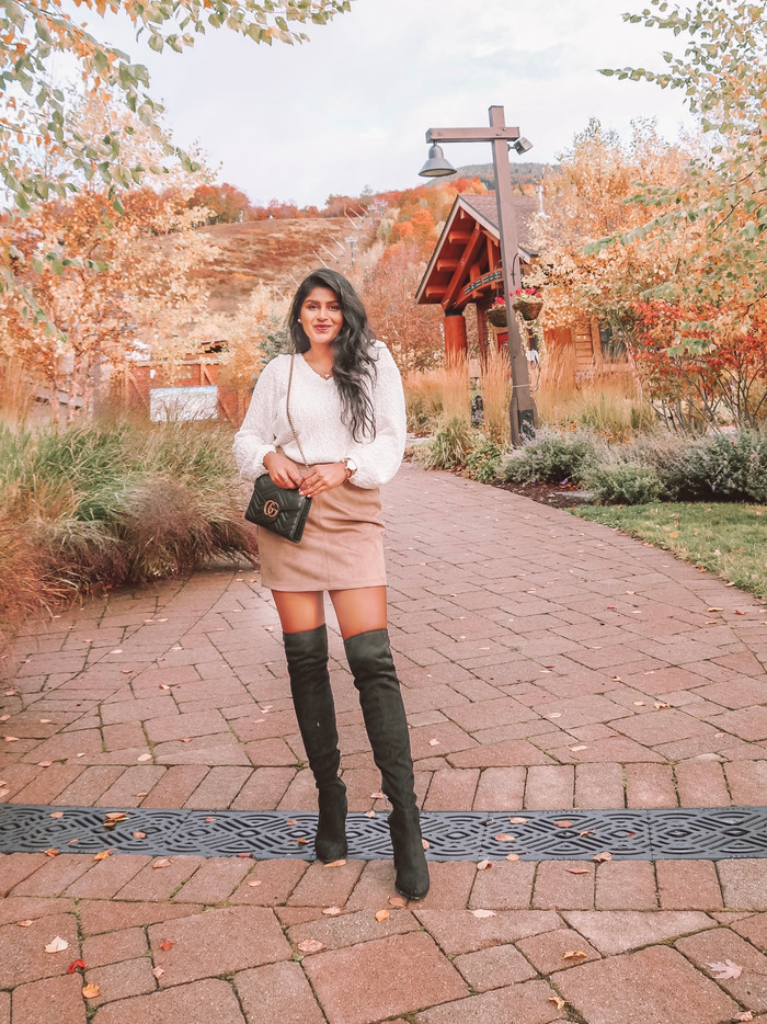 STYLING MINI SKIRTS FOR FALL