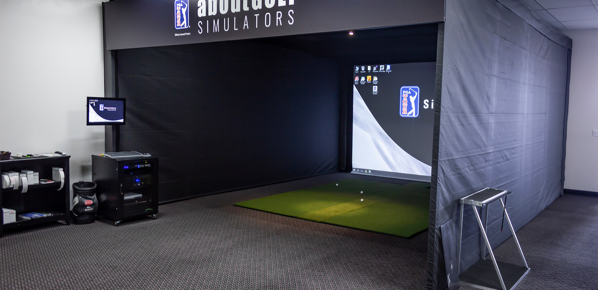 The aboutGolf Simulator Experience