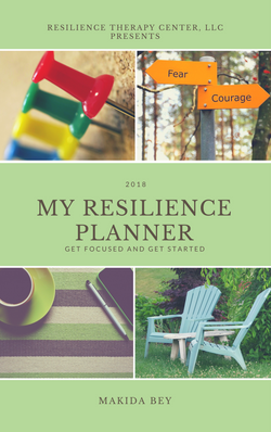 My Resilience Planner 2018 Cover