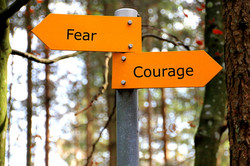 Fear and Courage Signs