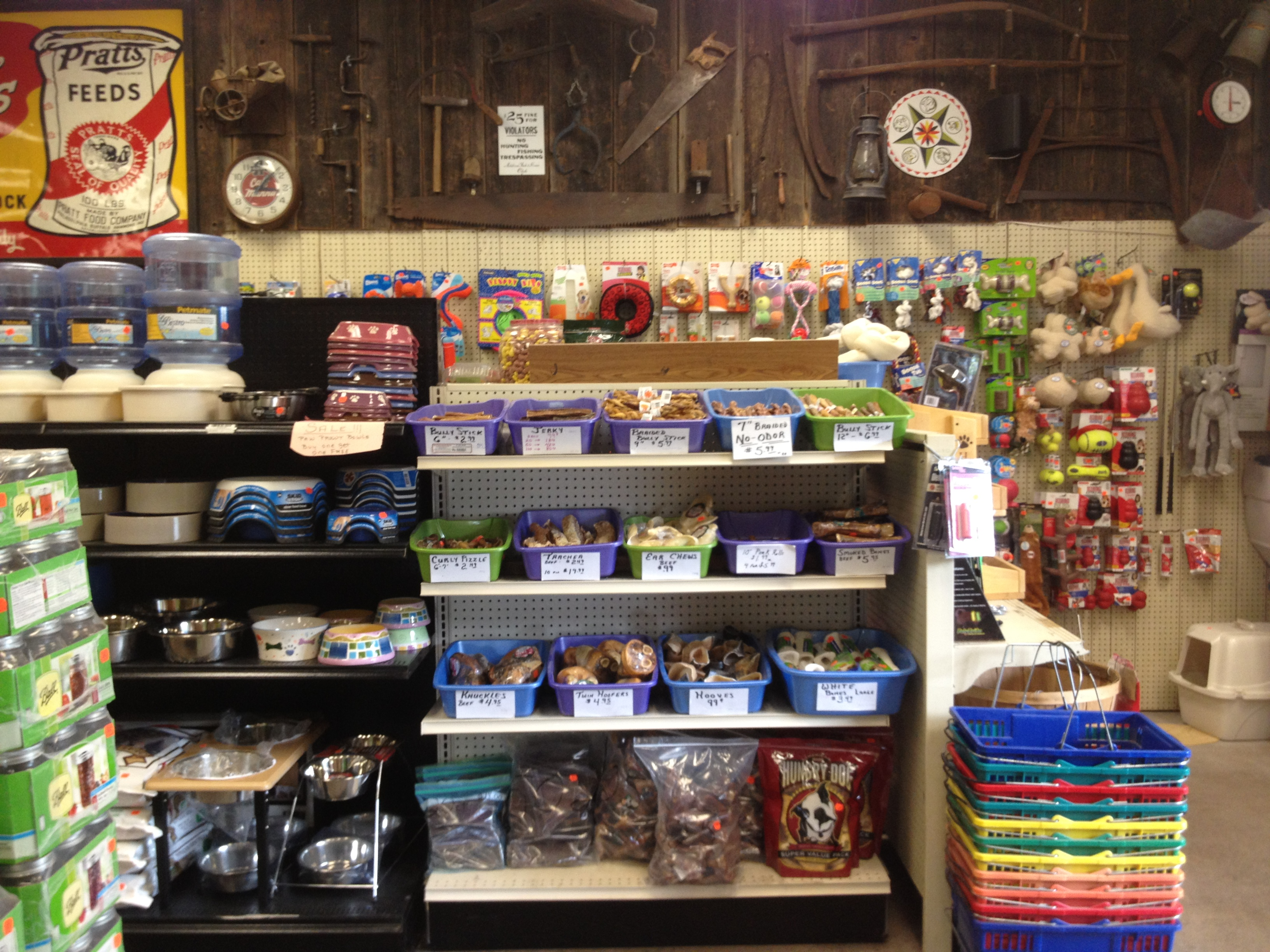 Dog Treats, Toys, and Supplies