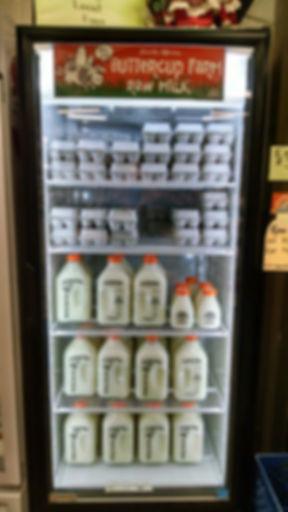 Fresh local eggs & raw milk