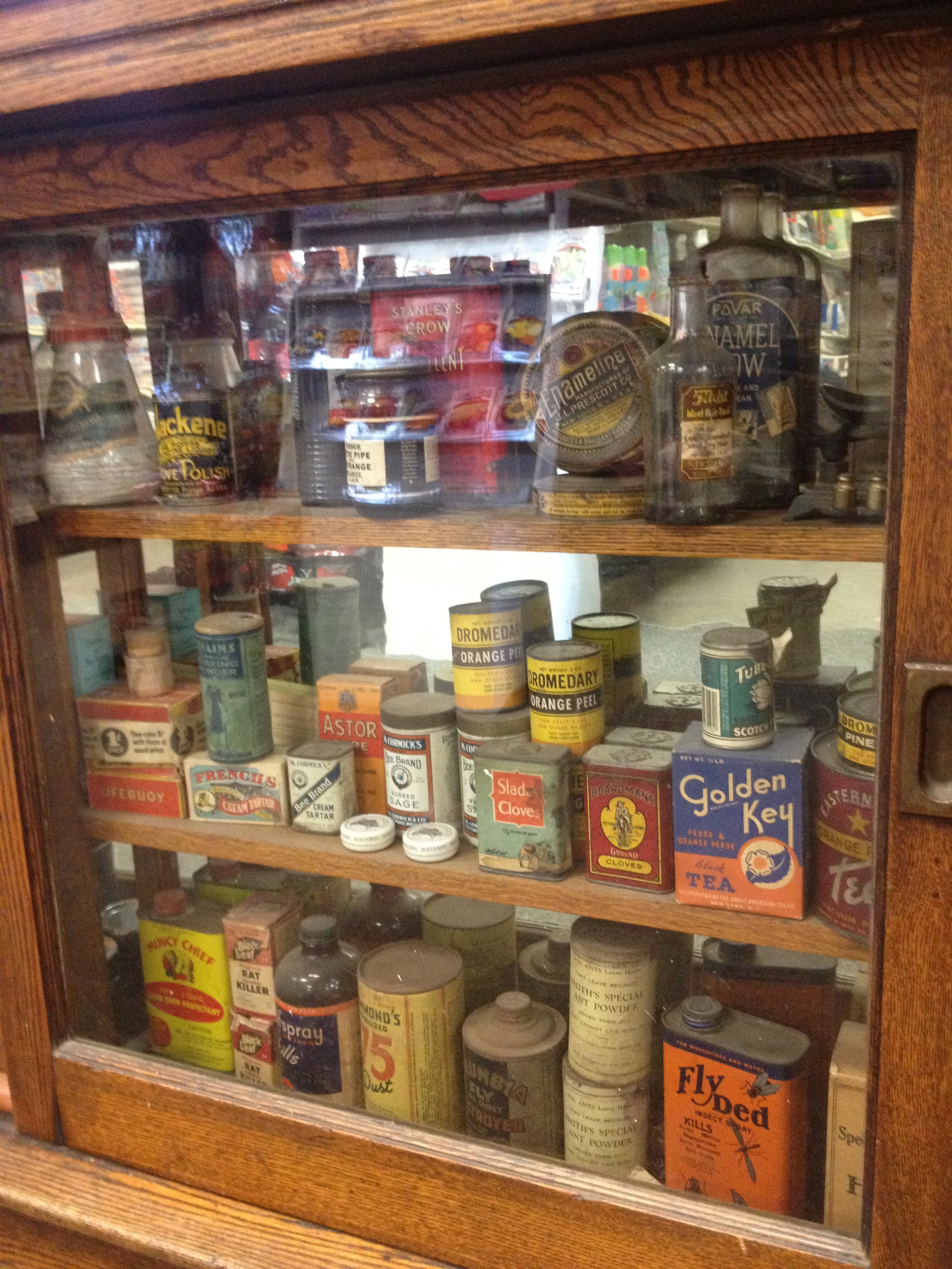 Collection of antique products