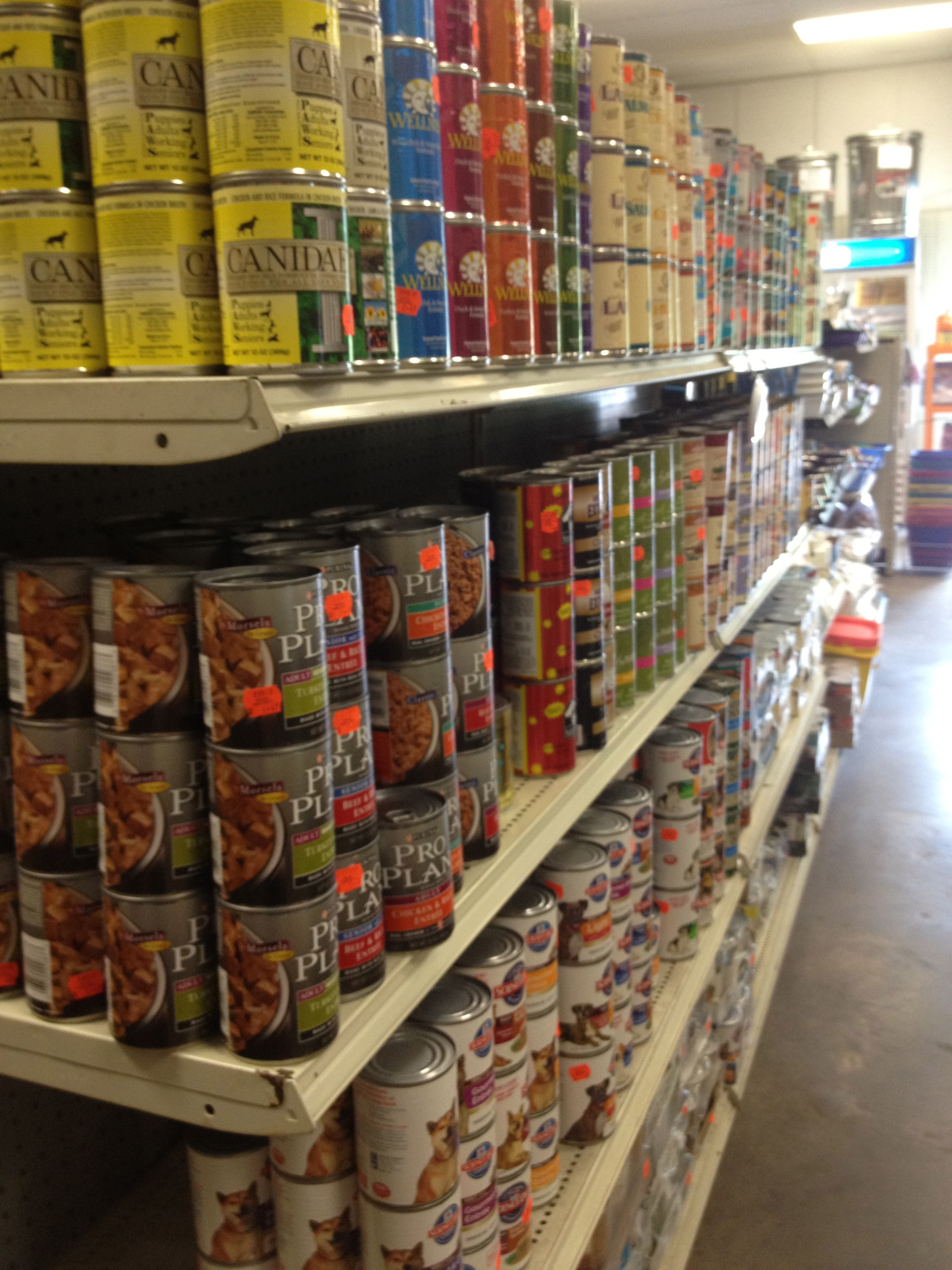 Wide selection of Canned Dog Food