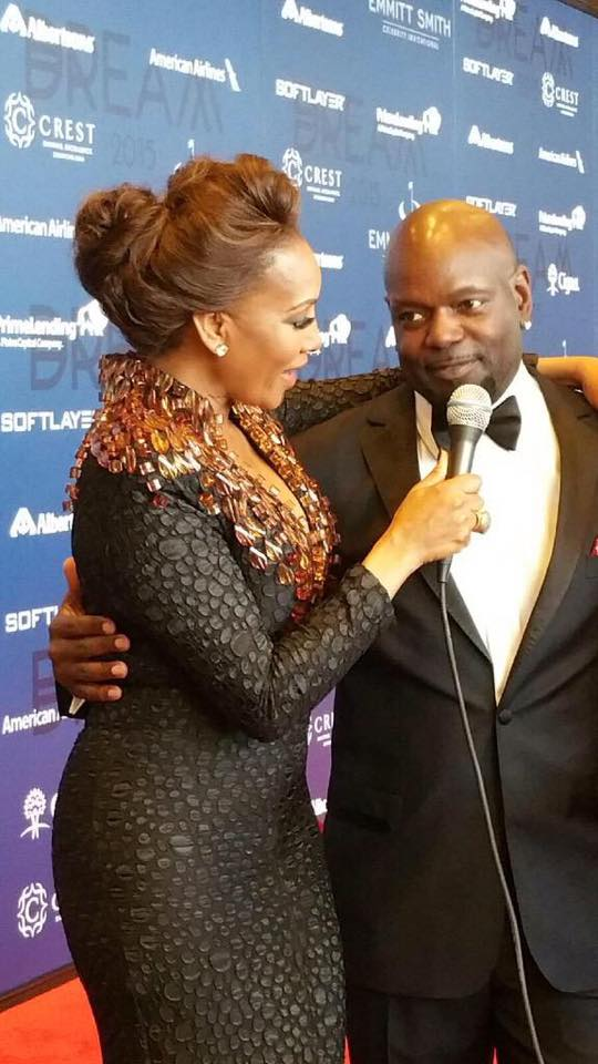 Emmitt Smith Charity Gala 2015