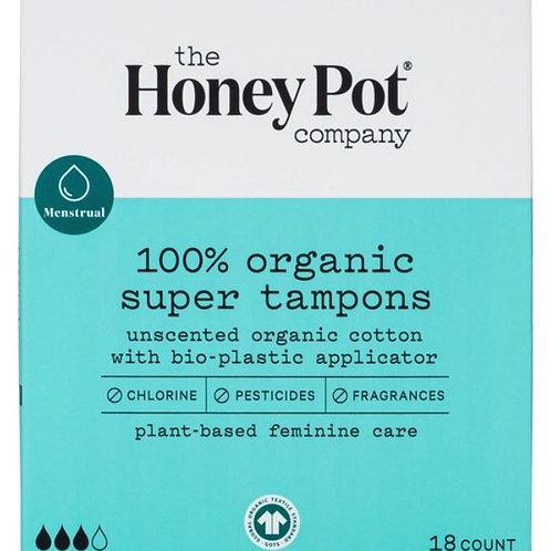 The Honey Pot Co. - 100% Organic Super Tampons