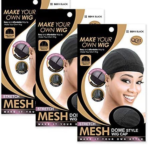 Qfitt Make Your Own Wig Mesh Dome Wig Cap (Stretch)