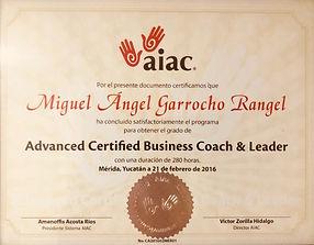 Advance Certified Business Coach & Leade