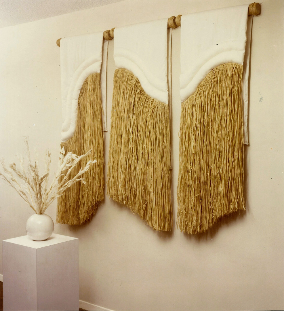 Winter's Grass Triptych
