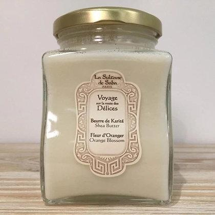 Beurre de Karité - Fleur d'oranger
