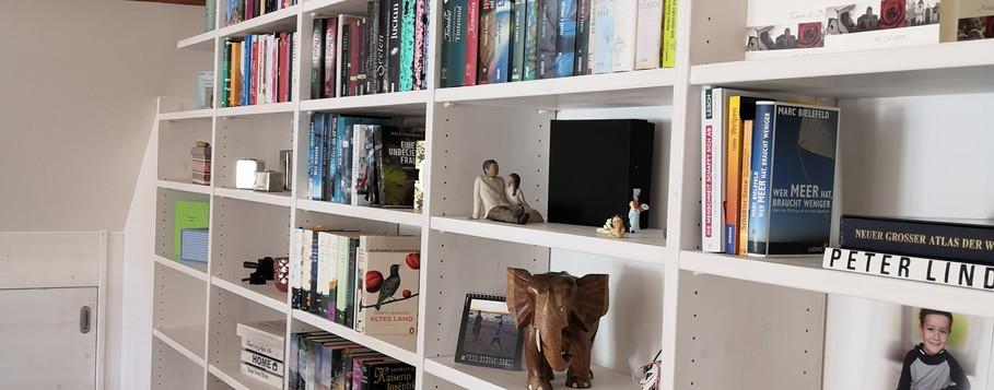 Bücherregal Fichte-Massiv