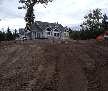 excavator Becker County, mn