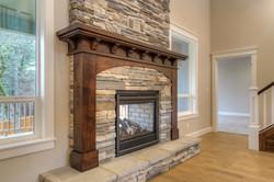 Sabre Lot 5 Fireplace