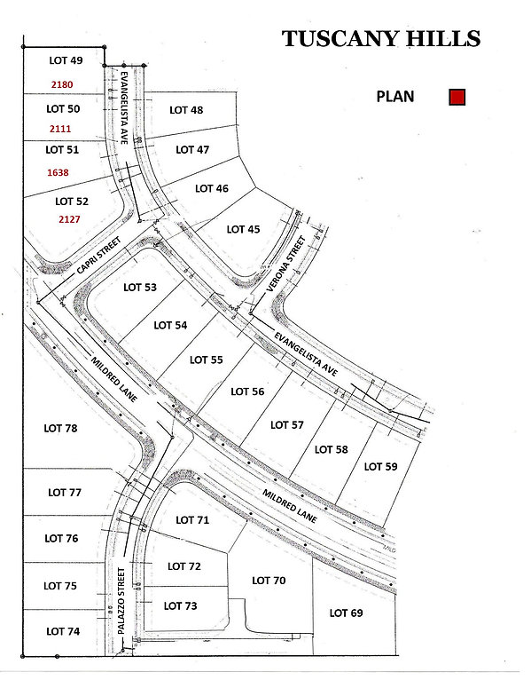Map with Lot numbers and plans 9-17.jpg