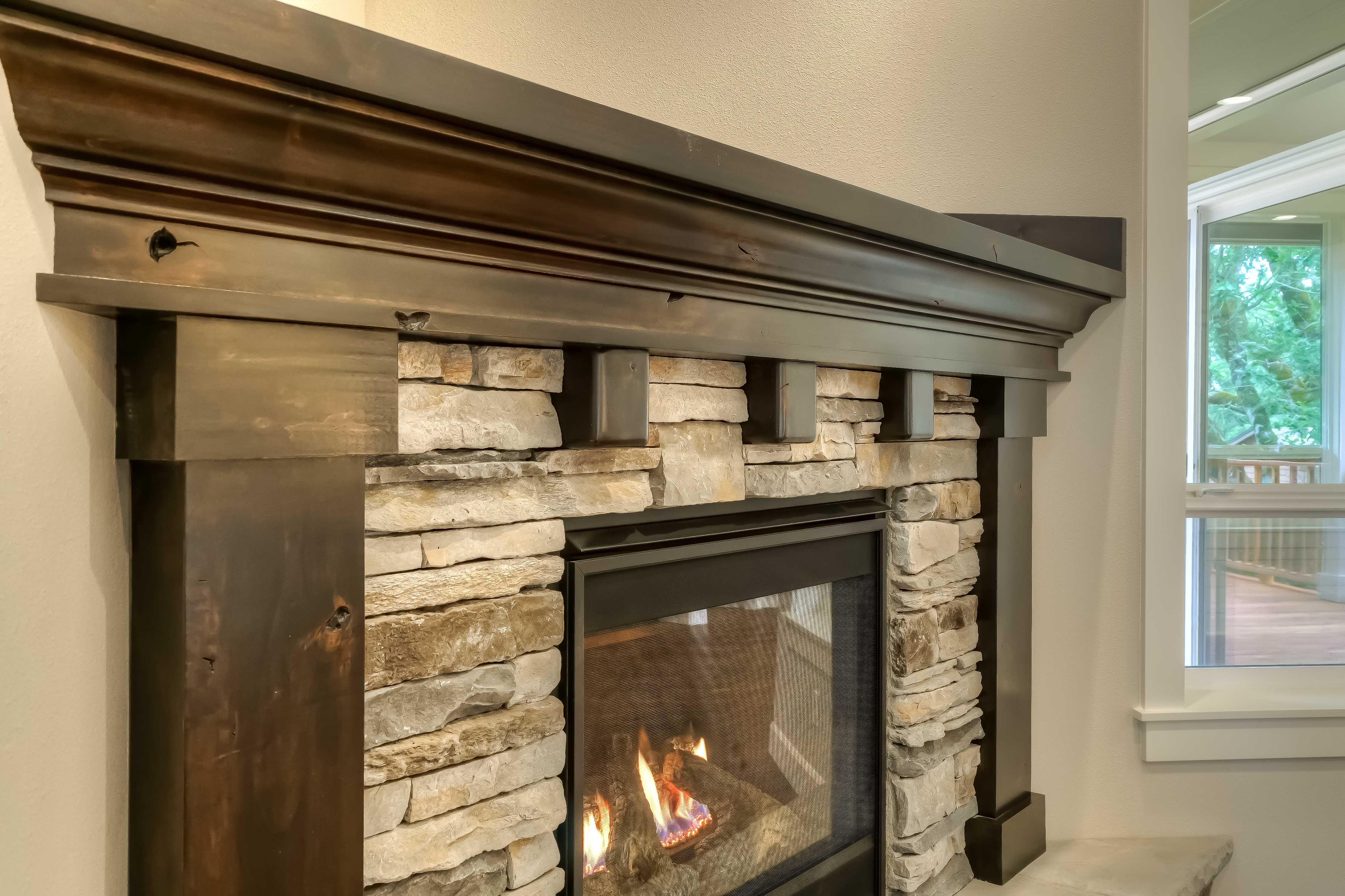 Lot 10 Fireplace
