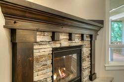 Lot 10 Fireplace