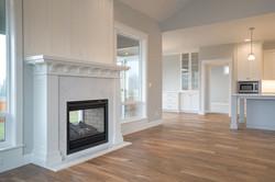 Lot 26 fireplace