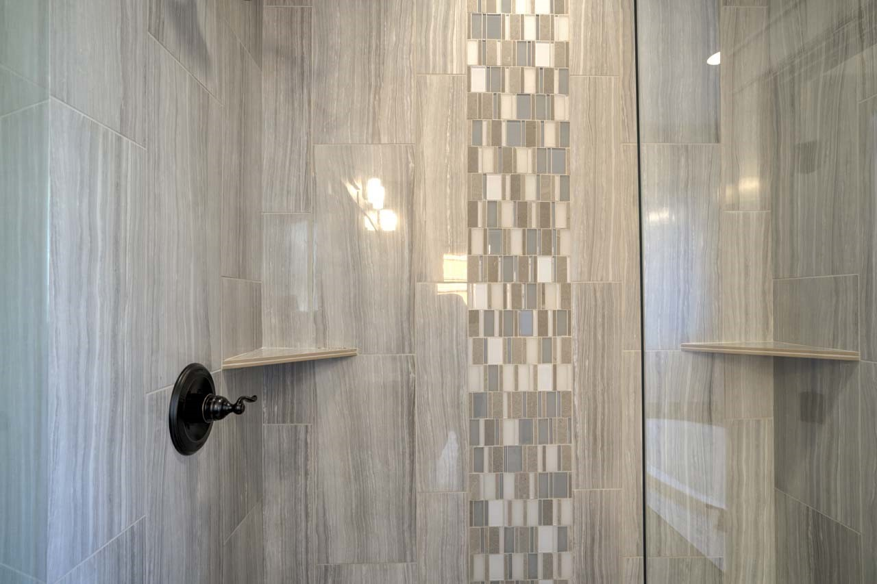 Lot 18 shower walls