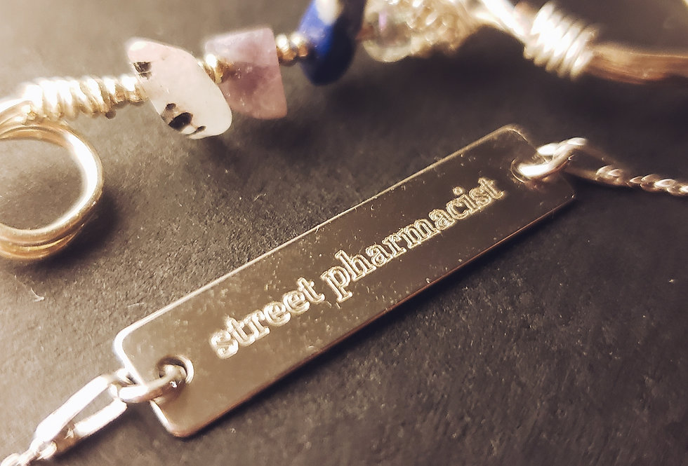 """""""Street Pharmacist"""" Chain Necklace"""