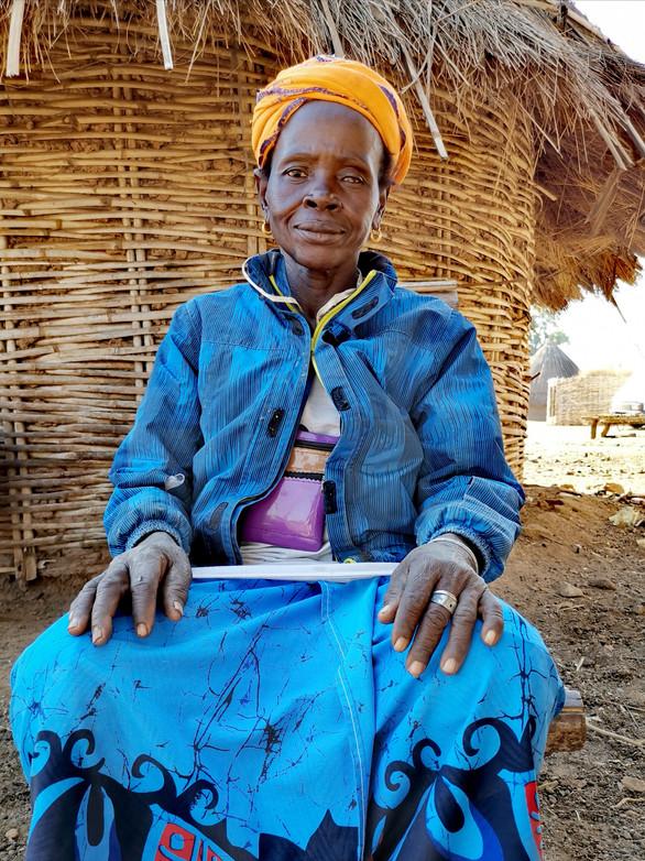 La première épouse du chef du village