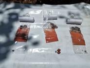 Echantillons de minerais