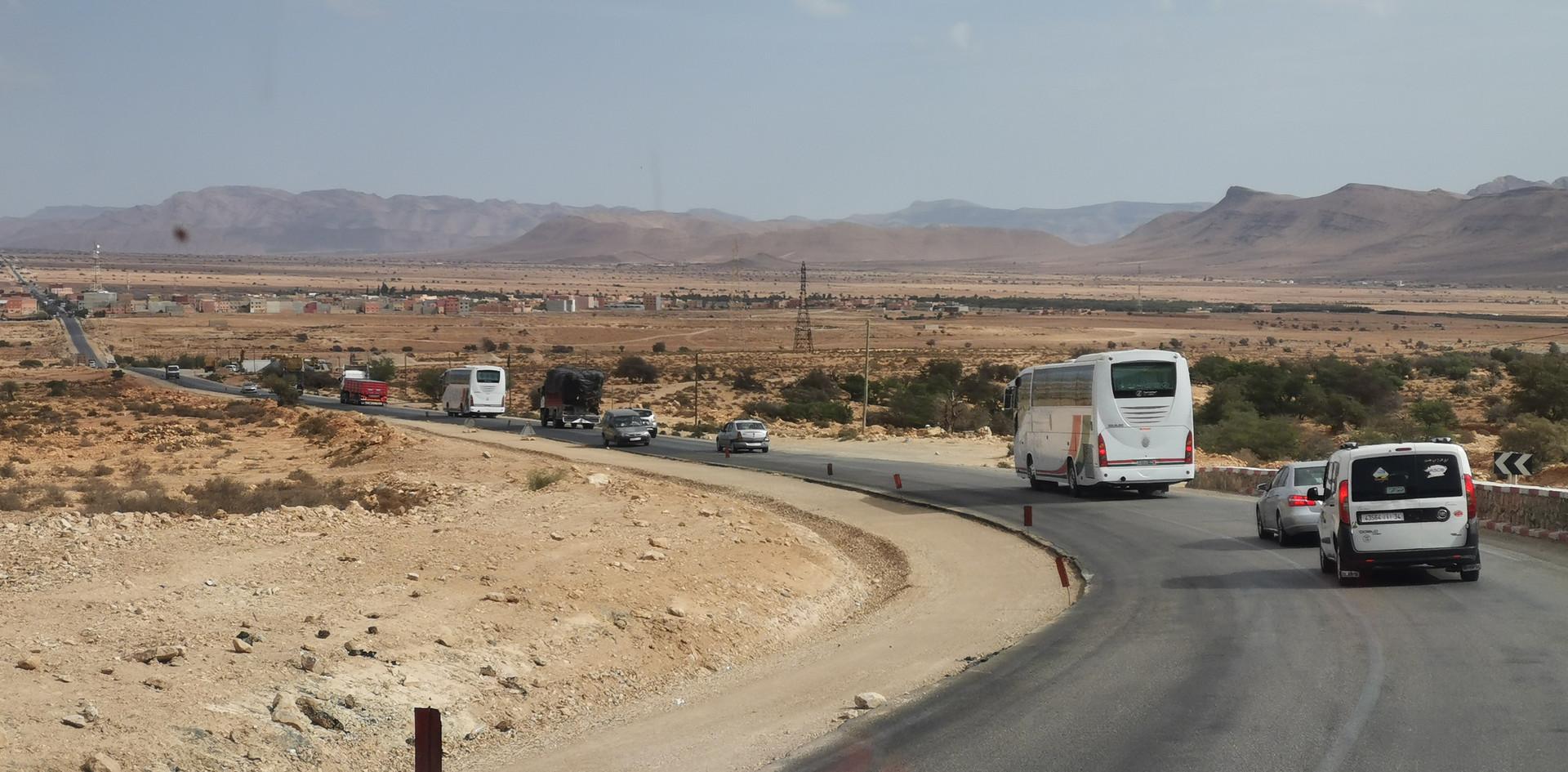 descente de Guelmim, Maroc