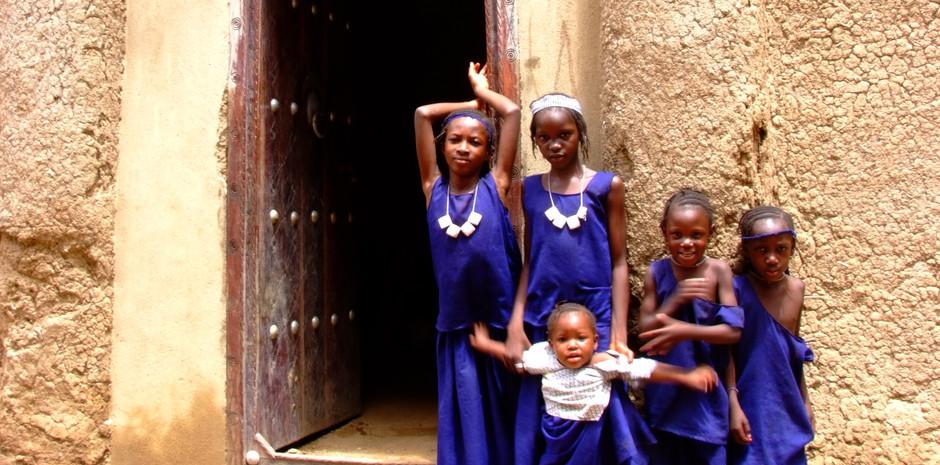 Fillettes de Djenné