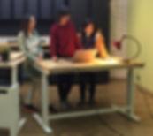 I Type Desk