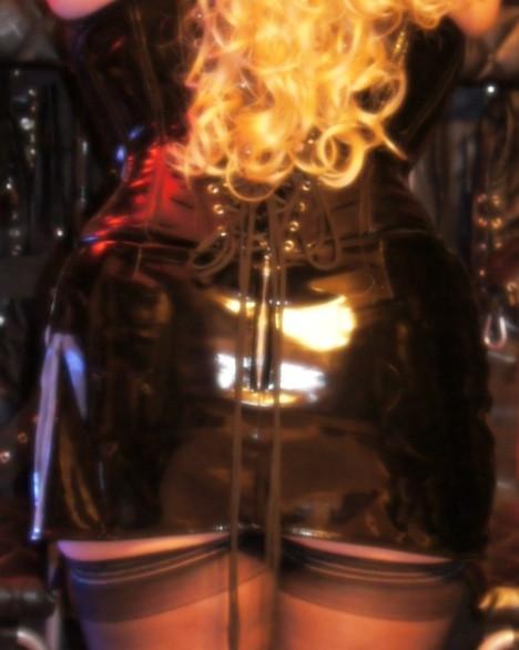 pro domina pvc skirt