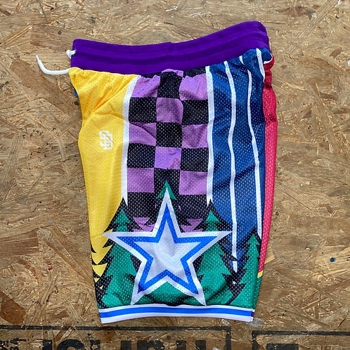 "Steelo ""What The"" NBA shorts"
