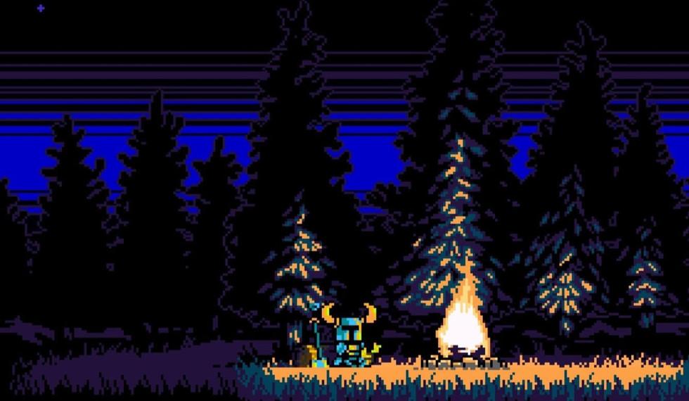 art of the game Shovel Knight