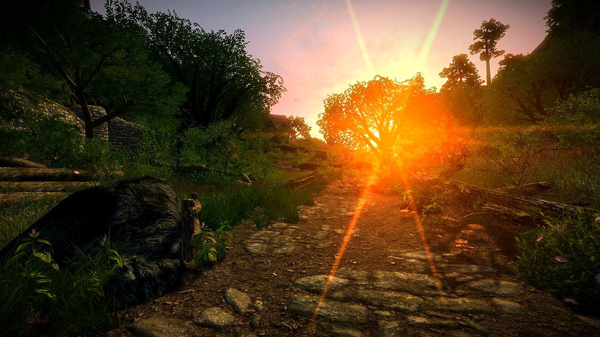 Dreamland from the game Enderal: Forgotten Stories