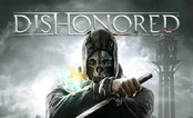 Cover image of the game Dishonored with logo