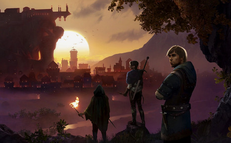 Main menu art of the game Enderal: Forgotten Stories
