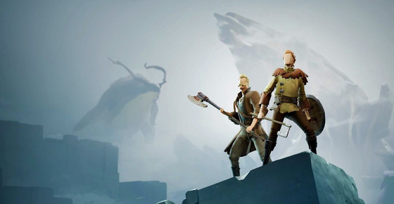 The cover image of the game Ashen