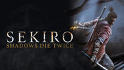Cover image of the game Sekiro: Shadows Die Twice with logo