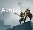 Cover image of the game Ashen with logo