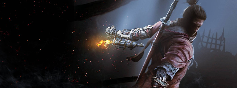 Cover image of the game Sekiro: Shadows Die Twice